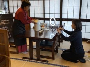 湯平温泉の人気旅館山城屋 世界へ発信