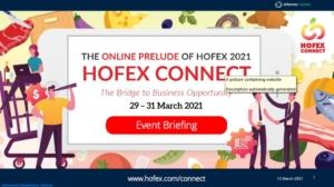 3月29日-31日连接  HOFEX(香港美食博览会) connect