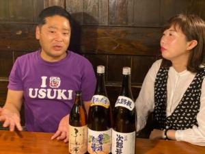 海外向けのPR動画の撮影  藤居酒造  かみ風船