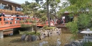 中国最大の日本タウン 中国遼寧省大連市 「 京都の街並み再現 」
