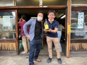 佐藤酒造株式会社 竹田市4代目 代表取締役 佐藤俊一郎 氏 挨拶